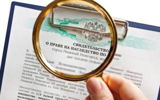 Выдача свидетельства о праве на наследство по закону и завещанию